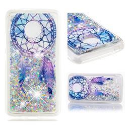 Fantasy Wind Chimes Dynamic Liquid Glitter Quicksand Soft TPU Case for Motorola Moto E4 (USA)