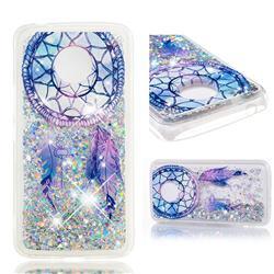 Fantasy Wind Chimes Dynamic Liquid Glitter Quicksand Soft TPU Case for Motorola Moto E4 Plus (USA)