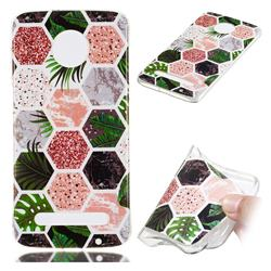 Rainforest Soft TPU Marble Pattern Phone Case for Motorola Moto Z3 Play