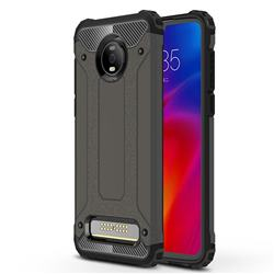 King Kong Armor Premium Shockproof Dual Layer Rugged Hard Cover for Motorola Moto Z4 Play - Bronze