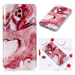 Pork Belly Soft TPU Marble Pattern Phone Case for Huawei Mate 10 (5.9 inch, front Fingerprint)