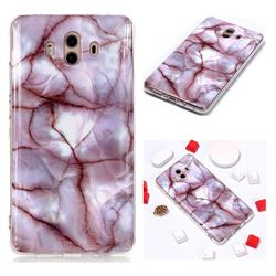 Earth Soft TPU Marble Pattern Phone Case for Huawei Mate 10 (5.9 inch, front Fingerprint)