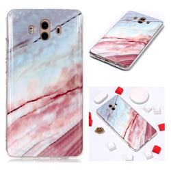 Elegant Soft TPU Marble Pattern Phone Case for Huawei Mate 10 (5.9 inch, front Fingerprint)