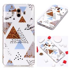 Hill Soft TPU Marble Pattern Phone Case for Huawei Mate 10 (5.9 inch, front Fingerprint)