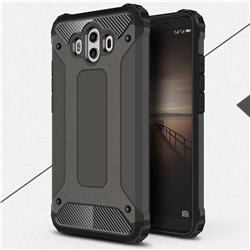 King Kong Armor Premium Shockproof Dual Layer Rugged Hard Cover for Huawei Mate 10 (5.9 inch, front Fingerprint) - Bronze