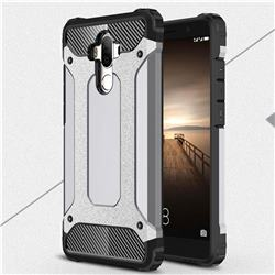 King Kong Armor Premium Shockproof Dual Layer Rugged Hard Cover for Huawei Mate9 Mate 9 - Silver Grey
