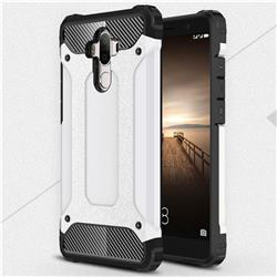 King Kong Armor Premium Shockproof Dual Layer Rugged Hard Cover for Huawei Mate9 Mate 9 - White
