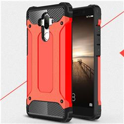 King Kong Armor Premium Shockproof Dual Layer Rugged Hard Cover for Huawei Mate9 Mate 9 - Big Red