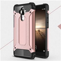 King Kong Armor Premium Shockproof Dual Layer Rugged Hard Cover for Huawei Mate9 Mate 9 - Rose Gold