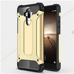 King Kong Armor Premium Shockproof Dual Layer Rugged Hard Cover for Huawei Mate9 Mate 9 - Champagne Gold