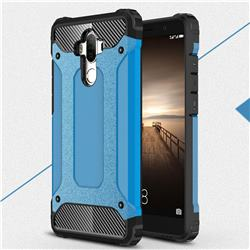 King Kong Armor Premium Shockproof Dual Layer Rugged Hard Cover for Huawei Mate9 Mate 9 - Sky Blue
