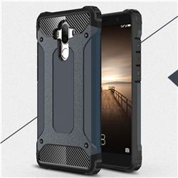 King Kong Armor Premium Shockproof Dual Layer Rugged Hard Cover for Huawei Mate9 Mate 9 - Navy