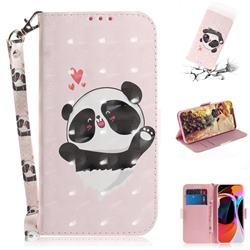 Heart Cat 3D Painted Leather Wallet Phone Case for Xiaomi Mi 10 / Mi 10 Pro 5G