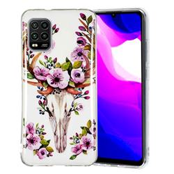 Sika Deer Noctilucent Soft TPU Back Cover for Xiaomi Mi 10 Lite
