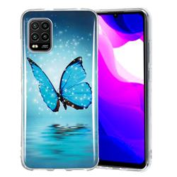 Butterfly Noctilucent Soft TPU Back Cover for Xiaomi Mi 10 Lite