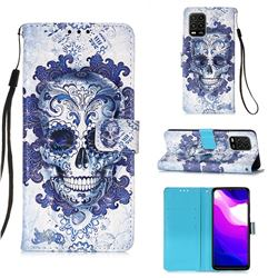 Cloud Kito 3D Painted Leather Wallet Case for Xiaomi Mi 10 Lite