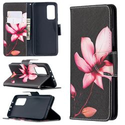 Lotus Flower Leather Wallet Case for Xiaomi Mi 10T / 10T Pro 5G