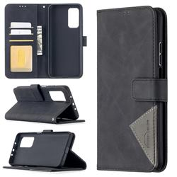Binfen Color BF05 Prismatic Slim Wallet Flip Cover for Xiaomi Mi 10T / 10T Pro 5G - Black