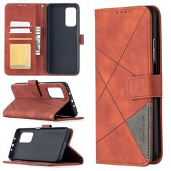 Binfen Color BF05 Prismatic Slim Wallet Flip Cover for Xiaomi Mi 10T / 10T Pro 5G - Brown
