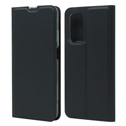 Ultra Slim Card Magnetic Automatic Suction Leather Wallet Case for Xiaomi Mi 10T / 10T Pro 5G - Star Grey
