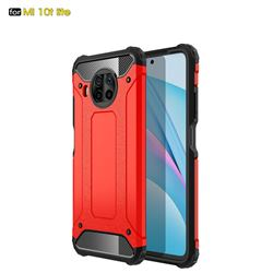 King Kong Armor Premium Shockproof Dual Layer Rugged Hard Cover for Xiaomi Mi 10T Lite 5G - Big Red