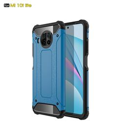 King Kong Armor Premium Shockproof Dual Layer Rugged Hard Cover for Xiaomi Mi 10T Lite 5G - Sky Blue