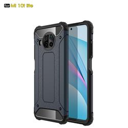 King Kong Armor Premium Shockproof Dual Layer Rugged Hard Cover for Xiaomi Mi 10T Lite 5G - Navy