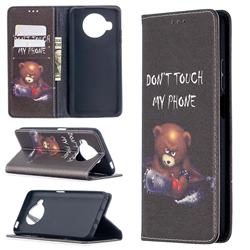 Chainsaw Bear Slim Magnetic Attraction Wallet Flip Cover for Xiaomi Mi 10T Lite 5G