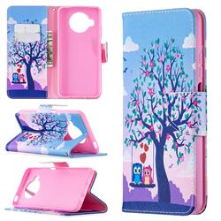 Tree and Owls Leather Wallet Case for Xiaomi Mi 10T Lite 5G