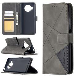 Binfen Color BF05 Prismatic Slim Wallet Flip Cover for Xiaomi Mi 10T Lite 5G - Gray