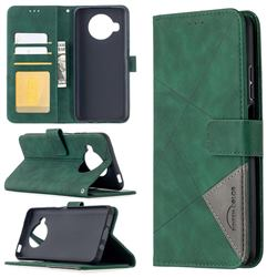 Binfen Color BF05 Prismatic Slim Wallet Flip Cover for Xiaomi Mi 10T Lite 5G - Green