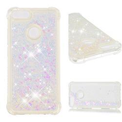 Dynamic Liquid Glitter Sand Quicksand Star TPU Case for Xiaomi Mi A1 / Mi 5X - Pink
