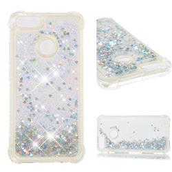 Dynamic Liquid Glitter Sand Quicksand Star TPU Case for Xiaomi Mi A1 / Mi 5X - Silver