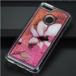 Lotus Glassy Glitter Quicksand Dynamic Liquid Soft Phone Case for Xiaomi Mi A1 / Mi 5X