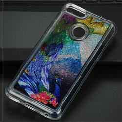 Phoenix Glassy Glitter Quicksand Dynamic Liquid Soft Phone Case for Xiaomi Mi A1 / Mi 5X