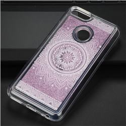 Mandala Glassy Glitter Quicksand Dynamic Liquid Soft Phone Case for Xiaomi Mi A1 / Mi 5X