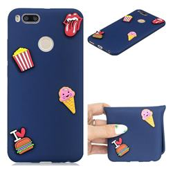 I Love Hamburger Soft 3D Silicone Case for Xiaomi Mi A1 / Mi 5X