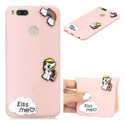 Kiss me Pony Soft 3D Silicone Case for Xiaomi Mi A1 / Mi 5X
