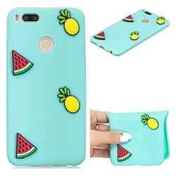 Watermelon Pineapple Soft 3D Silicone Case for Xiaomi Mi A1 / Mi 5X