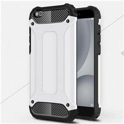 King Kong Armor Premium Shockproof Dual Layer Rugged Hard Cover for Xiaomi Mi 5c - White