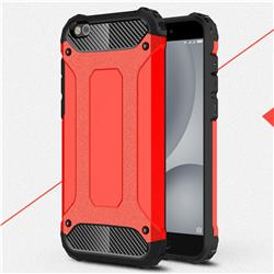 King Kong Armor Premium Shockproof Dual Layer Rugged Hard Cover for Xiaomi Mi 5c - Big Red