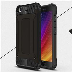 King Kong Armor Premium Shockproof Dual Layer Rugged Hard Cover for Xiaomi Mi 5s - Black Gold