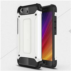 King Kong Armor Premium Shockproof Dual Layer Rugged Hard Cover for Xiaomi Mi 5s - White