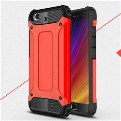 King Kong Armor Premium Shockproof Dual Layer Rugged Hard Cover for Xiaomi Mi 5s - Big Red