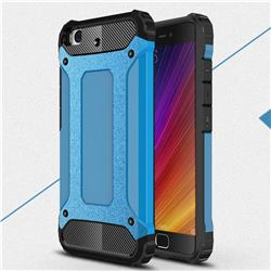 King Kong Armor Premium Shockproof Dual Layer Rugged Hard Cover for Xiaomi Mi 5s - Sky Blue