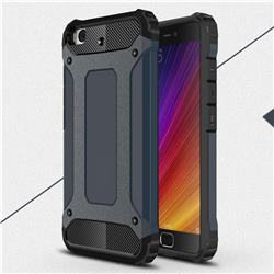 King Kong Armor Premium Shockproof Dual Layer Rugged Hard Cover for Xiaomi Mi 5s - Navy
