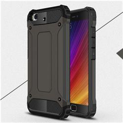 King Kong Armor Premium Shockproof Dual Layer Rugged Hard Cover for Xiaomi Mi 5s - Bronze