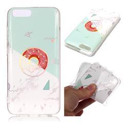 Donuts Marble Pattern Bright Color Laser Soft TPU Case for Xiaomi Mi 6 Mi6