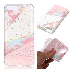 Matching Color Marble Pattern Bright Color Laser Soft TPU Case for Xiaomi Mi 6 Mi6