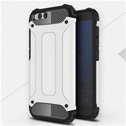 King Kong Armor Premium Shockproof Dual Layer Rugged Hard Cover for Xiaomi Mi 6 Mi6 - White